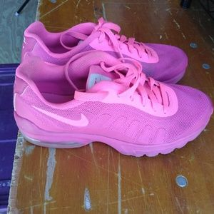 GIRL'S SZ 5Y USED PINK NIKE AIR MAX SHOES